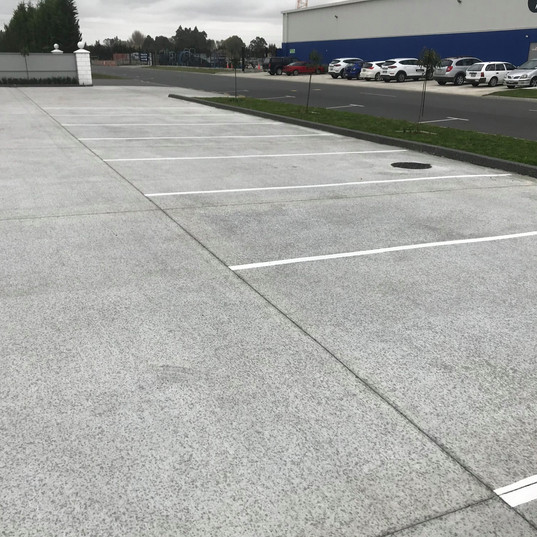 Car park painting and lines