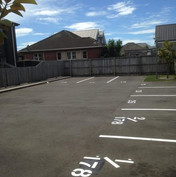 Residential carpark lines
