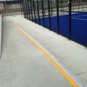 Footpath safety marking