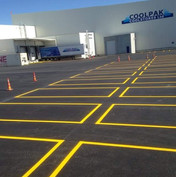 Coolpak carpark marking