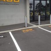 ASB carpark lines