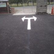 Road graphics and marking