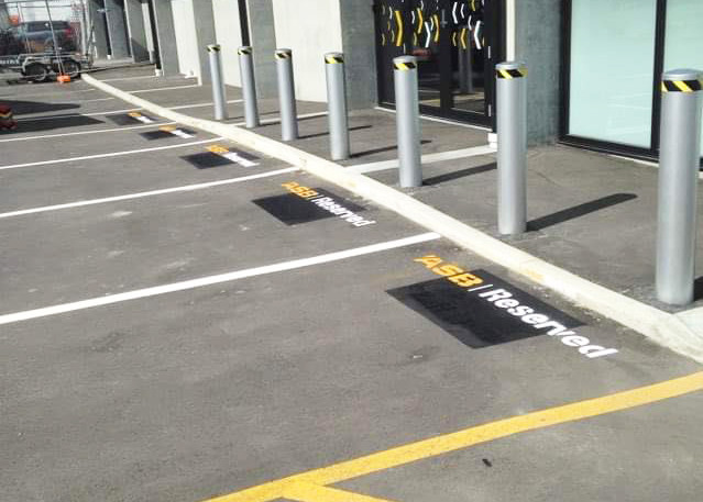 ASB Car Park lines