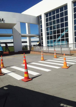 Zebra crossing lines
