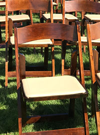 Folding Fruitwood Chair