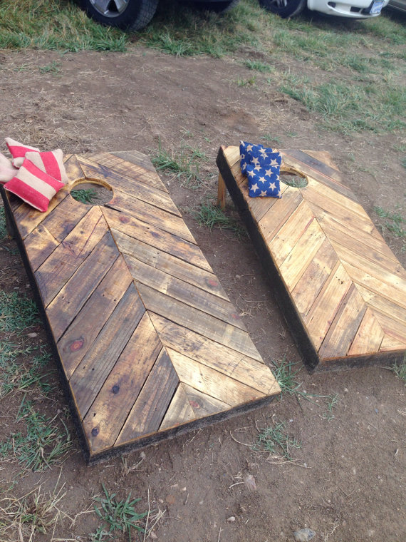Corn Hole - Herringbone