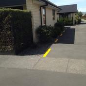 Line marking for residential houses