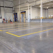 Commercial floor lines and graphics