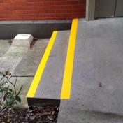 Footpath markings