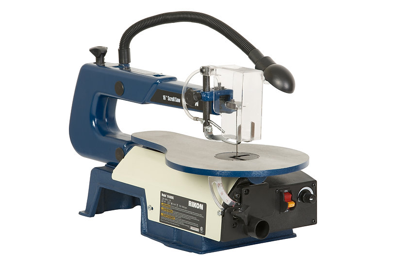 "RIKON 10-600VS 16"" Scroll Saw w/ Lamp"