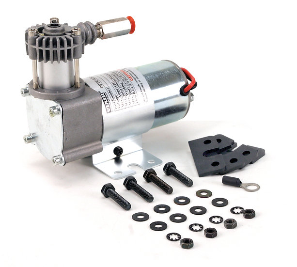 95C Compressor Kit w/ Omega Style Mounting Bracket (12V, 9% Duty, Sealed)