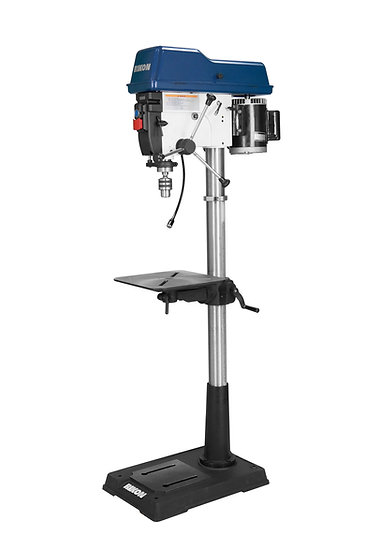"RIKON 30-217 17"" VarSpeed 1.5HP Drill Press w/6"" Quill, Digital RPM readout"