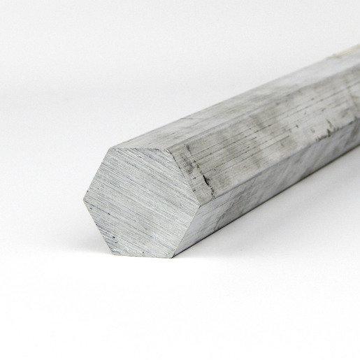"1/2""Hexagonal Aluminum Bar - Drive Shaft 7075-T7351 - 6 foot bar"