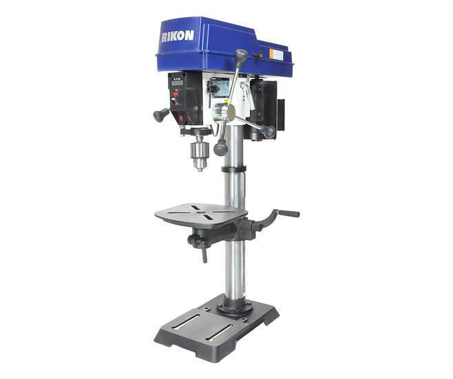 "Rikon 30-212VS  12"" VS Drill Press with digital readout and laser"