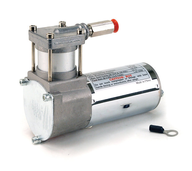 97C Compressor Kit w/ External Check Valve, No Brackets (12V, 10% Duty, Sealed)