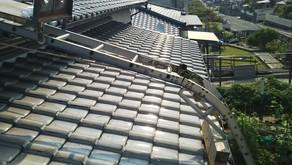 屋根下地防水シート張替え工事(宗像市、N様邸)