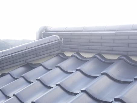屋根工事(宗像市、S様邸)