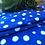 Thumbnail: Micro Fiber Kitchen Towels in Blue Or Aqua Dots set of 2