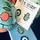 Thumbnail: Blue Hamsa and Evil Eye  Metal Phone Charms set of 2
