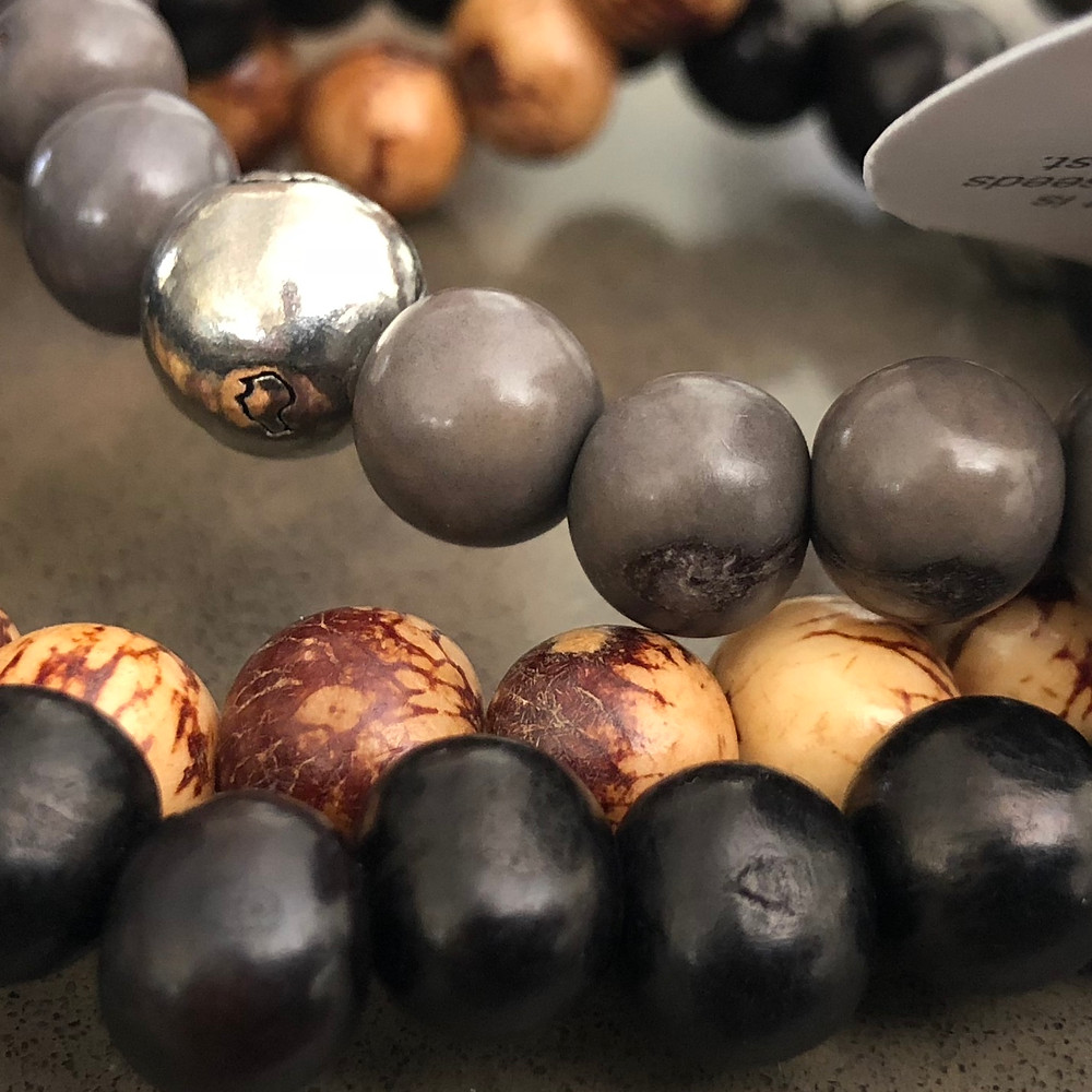 Acai seed Bracelets for Men