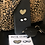 Thumbnail: Leopard Heart Infinity  Love  Metal Phone Charms set of 2
