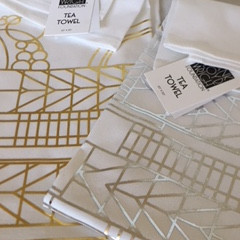 Frank Lloyd Wright, my passion and a new range of tea towels!