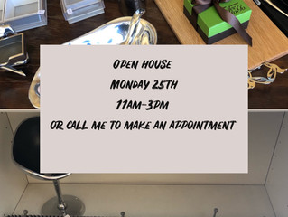 Open hours Monday 25th Feb11am-3pm. Need our address? Contact us directly by text at 858-967-0091. C