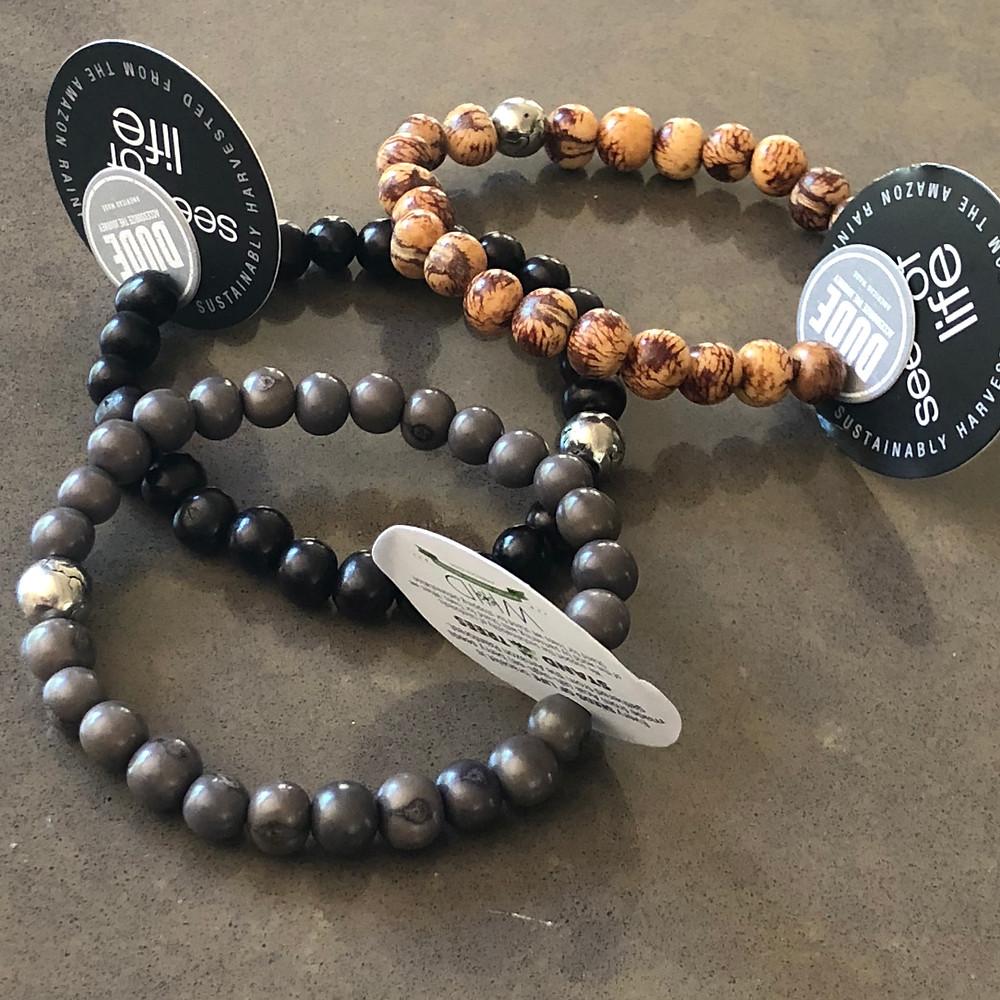 Dude Acai Bead bracelets
