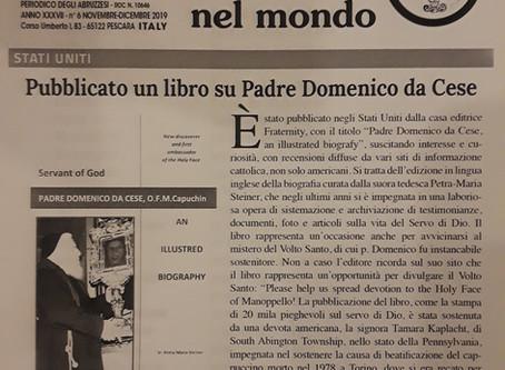 Abruzzo nel Mondo Periodico degli Abruzzesi: November-December 2019