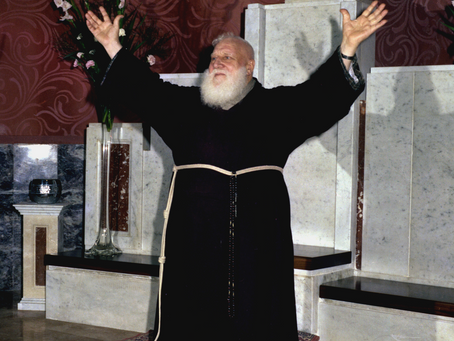TODAY IS THE ANNIVERSARY OF THE BIRTH OF PADRE DOMENICO DA CESE, O.F.M. CAPUCHIN; MARCH 27, 1905.