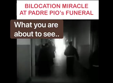 NEW VIDEO IN ENGLISH - BILOCATION MIRACLE - PADRE DOMENICO WITH SCENES FROM PADRE PIO'S LIFE