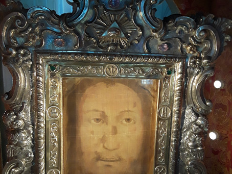 THE RESURRECTION VEIL OF OUR LORD JESUS (VOLTO SANTO) IN THE CARE OF THE CAPUCHINS SINCE 1638!