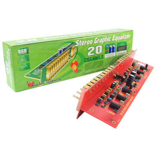 STEREO GRAPHIC EQUALIZER