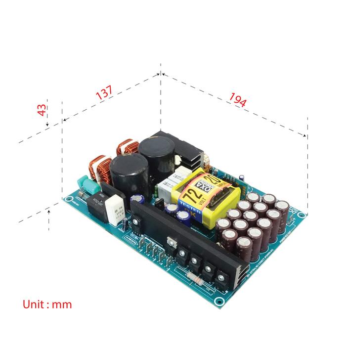 SMPS DCA 2000 - 20A 85V (2)