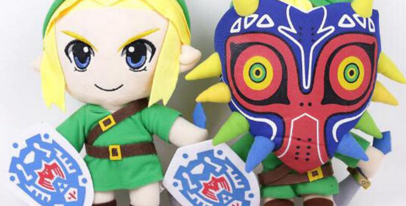 Pelucia Link 31cm The legend of Zelda