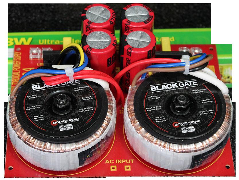 Power Supply Dual Toroidal 1.5 x 2