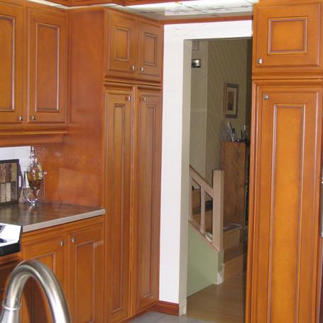 Après: armoires de cuisine