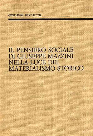 Il pensero sociale di Giuseppe Mazzini n