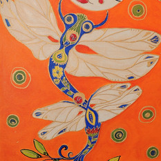Dragonfly Moon Being