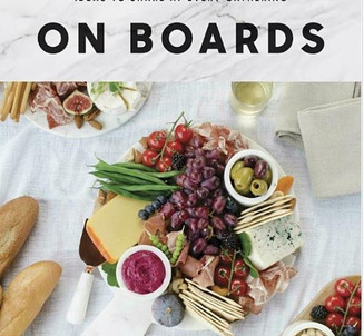 Books on Charcuterie Boards and more