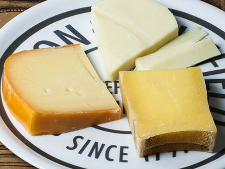 Cheese trio to pair with Chardonnay