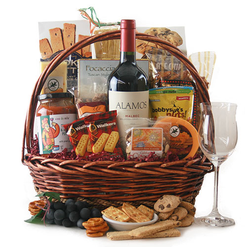 Charcuterie and Wine Gifts
