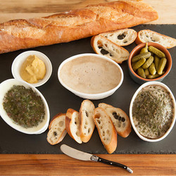 Foie Gras Pate and Dips