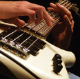 Bass Guitar in Action