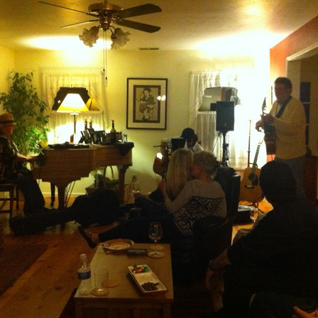 Mr. B at home concert