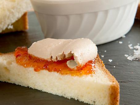 Mousse of Duck Foie Gras, a traditional charcuterie recipe
