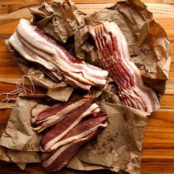 Cured Bacon Trio