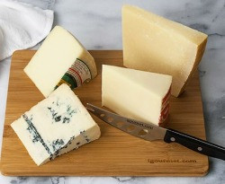 While traditionally it has been put forth that white wines pair better with soft cheeses and red wine pairs better with hard cheeses, this rule has become outdated.