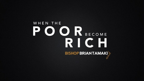 When the poor become rich