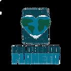 Logo Pelo Bem do Planeta 8 x 8cm Fundo T